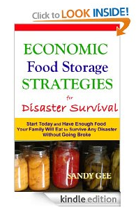 Economic Food Storage Strategies for Disaster Survival by Sandy Gee